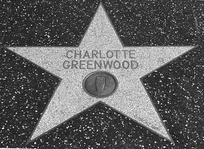 Charlotte Greenwood Hollywood Star