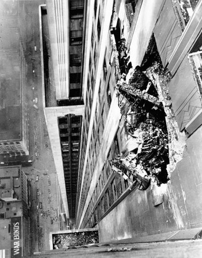 1945 b25 crash into empire state building