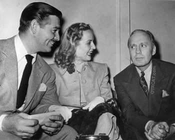 Clark Gable, Carol Lombard and Jack Benny