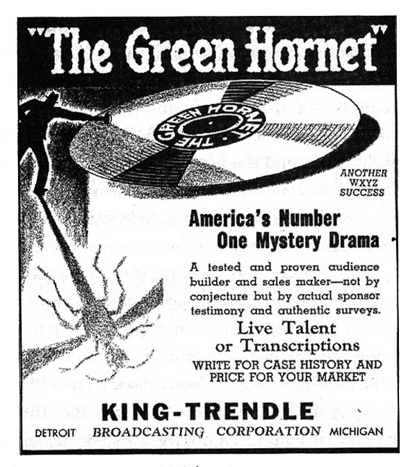 In 1964, re-runs of The Green Hornet and The Shadow on one of Cleveland�s radio stations inspired the author to start taping and collecting old radio shows, a hobby he still engages in today.