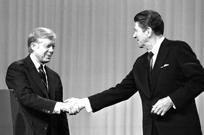 Ronald Reagan & Jimmy Carter Debate