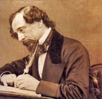 Charles Dickens Writing