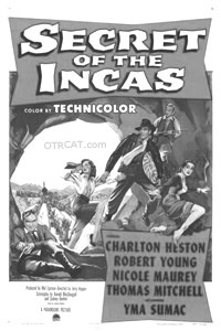 Charleton Heston Secret of the Incas