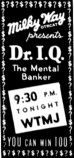 Doctor IQ radio game show (DR IQ)