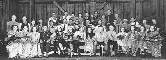 Renfro Valley Barn Dance Cast 1937-1938