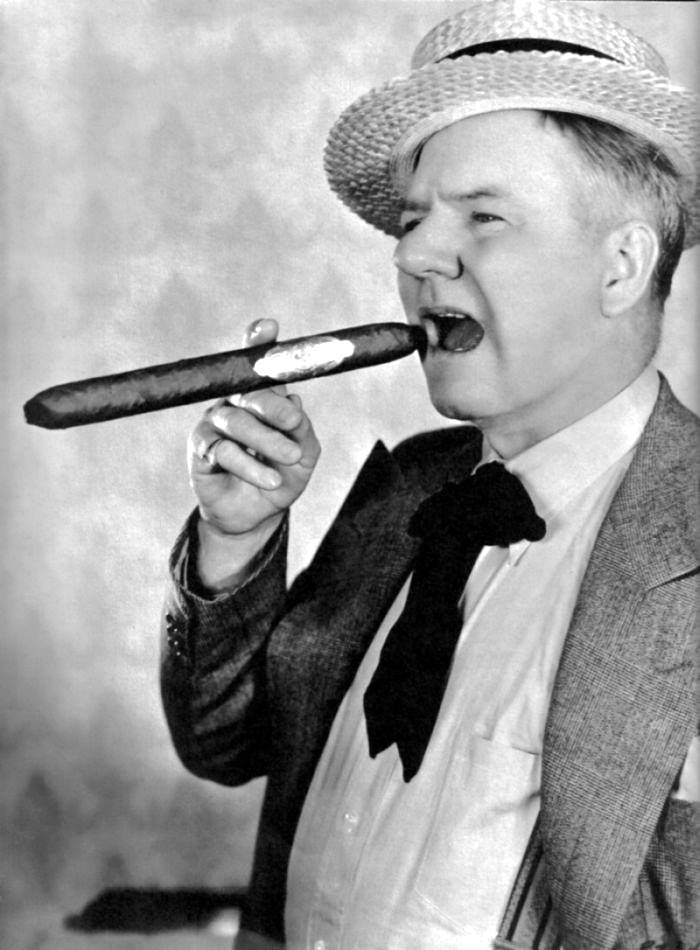 WC Fields and Giant Cigar