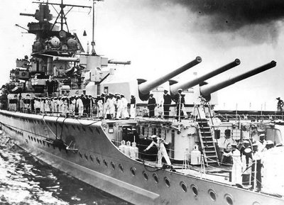 German pocket battleship Graf Spee
