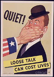 Loosr Talk Can Cost Lives WWII Poster
