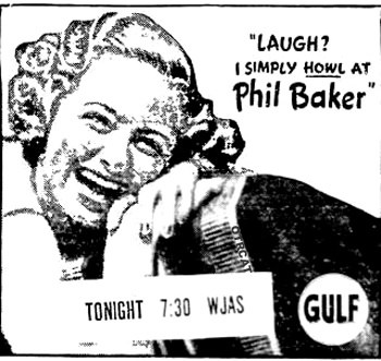 Phil Baker - Laugh?  I simply Howl at Phil Baker