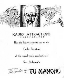 Ad for The Shadow of Fu Manchu