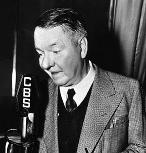WC Fields on Radio