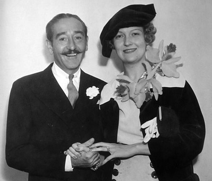 Adolphe Menjou and Verree Teasdale