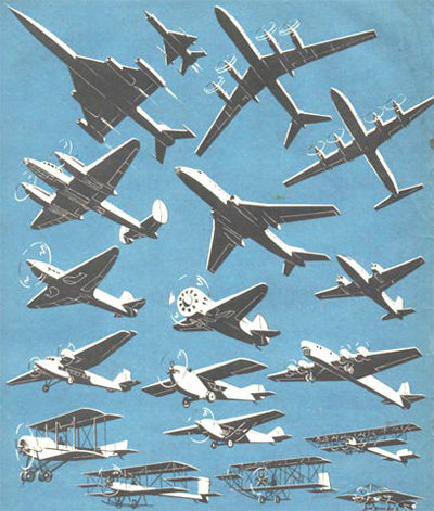 Airplanes from the 20th Century