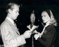 Alan Ladd and Veronica Lake