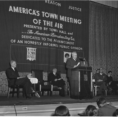 America Town Meeting of the Air