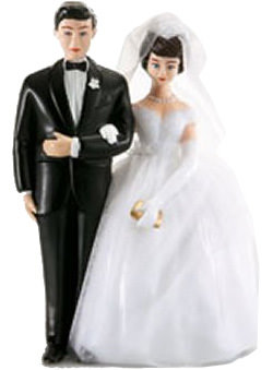 Antique Wedding Topper