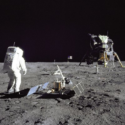 Apollo 11 Moonwalk