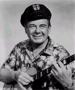 Arthur Godfrey with his Ukulele