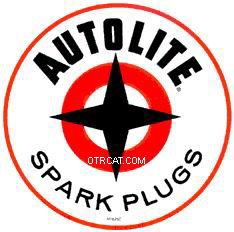 Autolight Logo--was a sponsor of the radio show, Suspense!