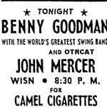 Benny Goodman Johnny Mercer