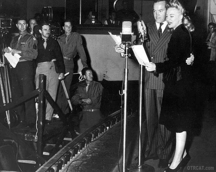 Betty Hutton & Bob Hope on Command Perromance