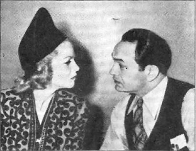 Edward G Robinson and Clarie Traveor star in Big Town