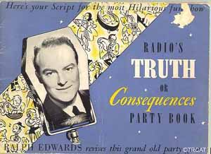 Truth or Consequence Party Book