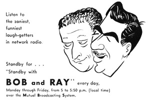 Bob and Ray Ad