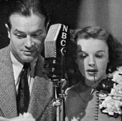 Judy Garland and Bob Hope