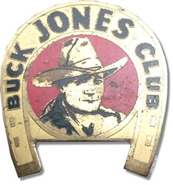 Buck Jones Badge