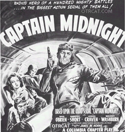 Captain Midnight movie poster