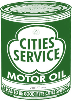 Cities Services Motor Oil