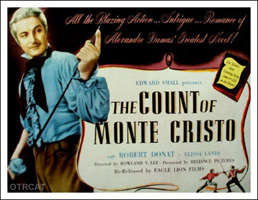 Count of Monte Cristo advertisement