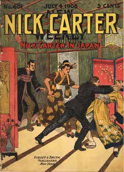 Nick Carter Dime Novel