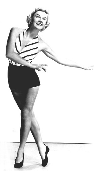 Doris Day Dancing