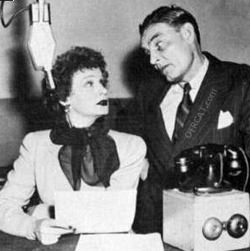Shirly Booth and Ed Gardner