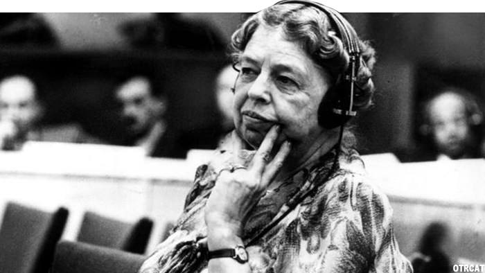 Eleanor Roosevelt on the Radio