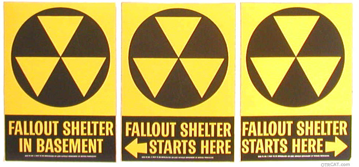 Atomic Fallout Signs