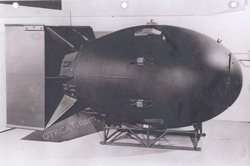 Fat Man Atomic Bomb