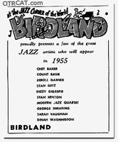 Live from Birdland Flyer
