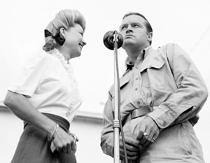 Frances Langford and Bob Hope