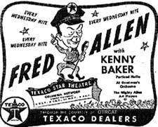 Advertisement for Fred Allen