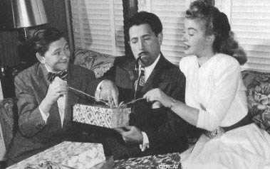 Gildersleeve opening presents