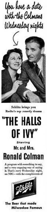 Halls of Ivy Magazine Ad