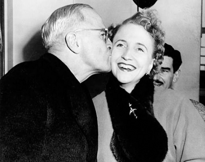 Harry and Margaret Truman 1954