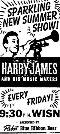 Harry James Ad