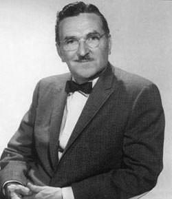 "Howard McNear who played Doc on Gunsmoke ""Doesn't that make it hard for the pitcher""?"
