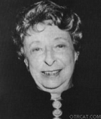 Irna Phillips, originator of the show