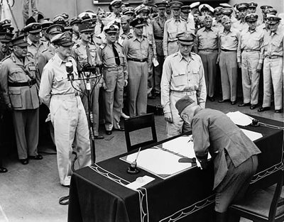 Japanese Surrender 1945