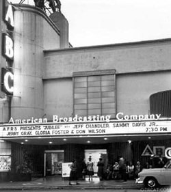 American Broadcasting features AFRS Jubliee- Jubilee AFRS circa 1944 - Hollywood, California